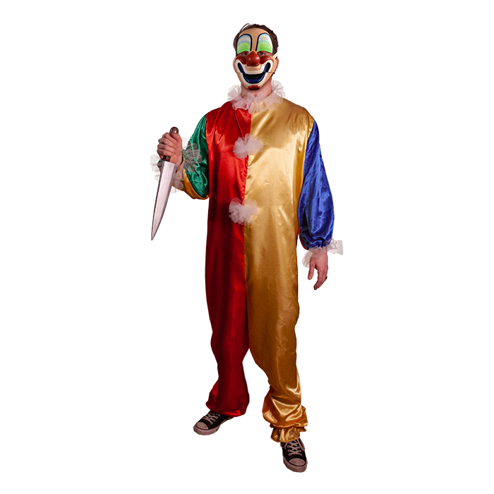 TRICK OR TREAT STUDIOS Halloween Young Michael Clown Mask for Adults