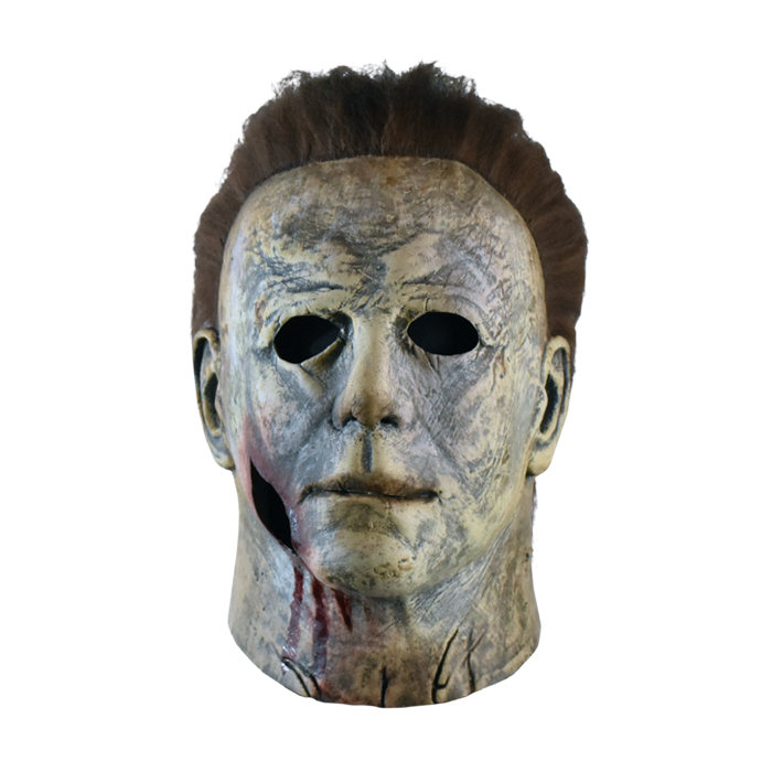 Halloween 2020 Michael Myers Mask Bloody Edition Review Halloween 2018   Michael Myers Mask Bloody Edition